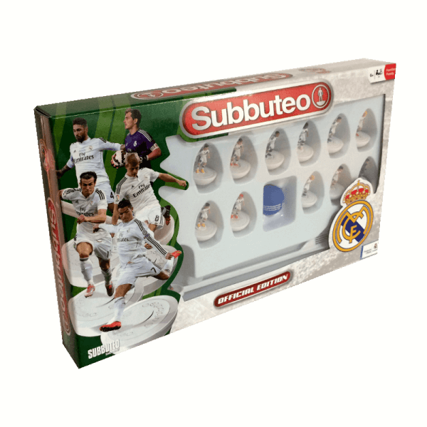 Subbuteo Team Box Real Madrid 1ª Equipación