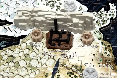 4D Game of Thrones Westeros Closeup The Wall & Castle Black