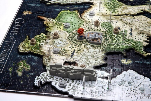 4D Game of Thrones Westeros Closeup Winterfell North Area