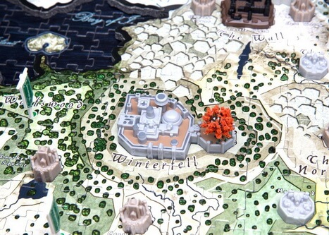 4D Game of Thrones Westeros Closeup Winterfell