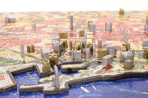 Contenido Puzzle 4D Barcelona