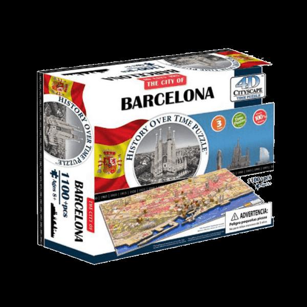 Puzzle 4D Cityscape Barcelona