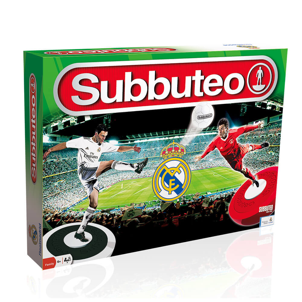 Subbuteo Playset Real Madrid Edición 2018-19