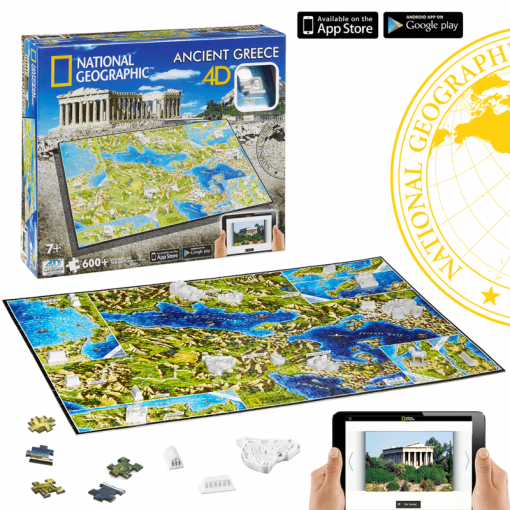 Puzzle 4D National Geographic Antigua Grecia