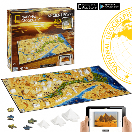 Puzzle 4D National Geographic Antiguo Egipto