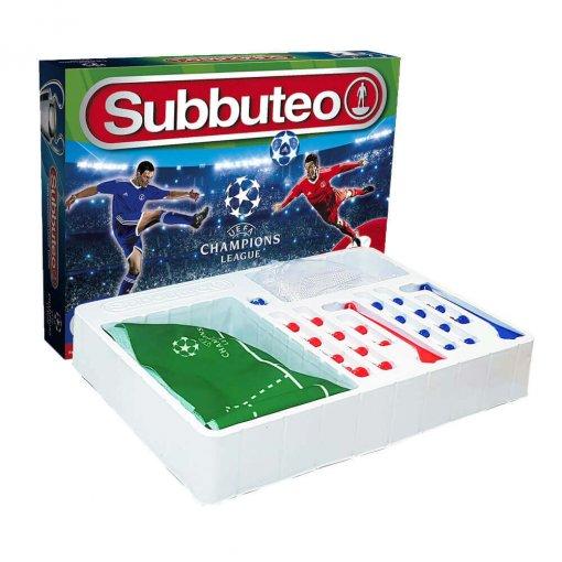 Subbuteo Playset UEFA Champions League 2ª Edición (Contenido)