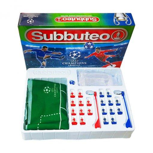 Subbuteo Playset UEFA Champions League 2ª Edición (Contenido y Caja)