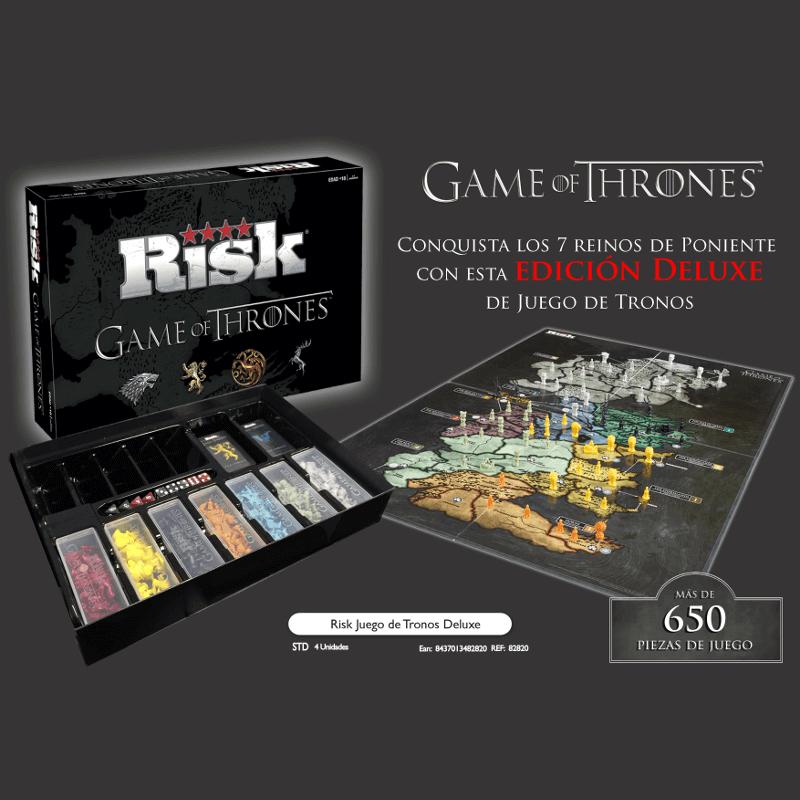 Risk Juego de Tronos Edicin Deluxe
