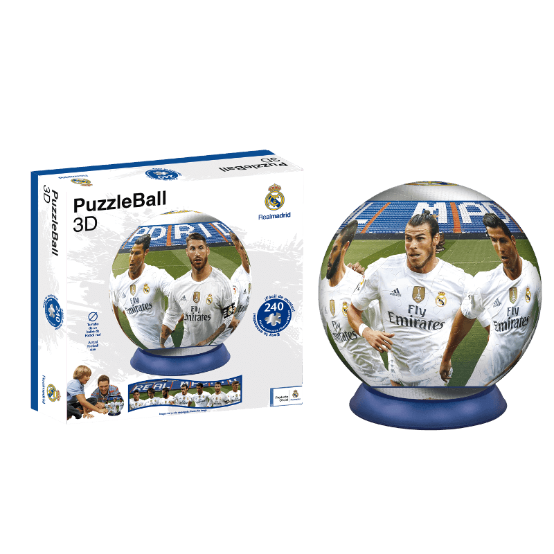Puzzle Ball 3D Real Madrid (Producto Oficial) baa3060e63668