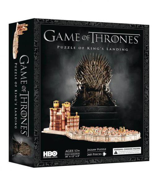 Puzzle 4D Desembarco del Rey