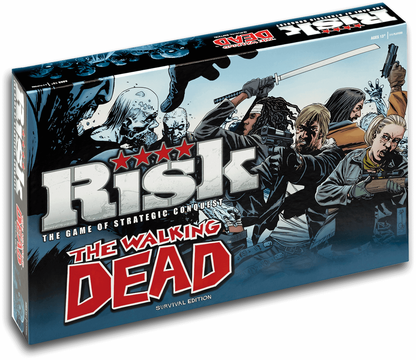 Caja Risk The Walking Dead