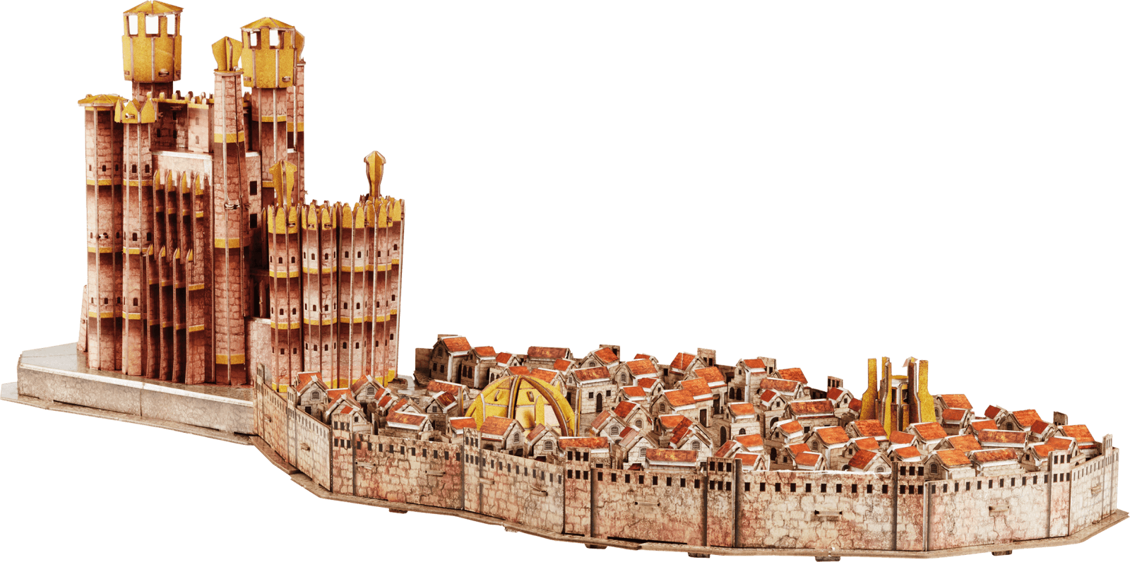 Maqueta Puzzle 4D Desembarco Del Rey