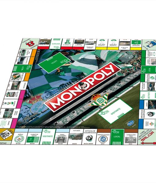 Monopoly Real Betis Balompié Tablero