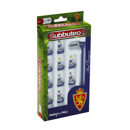 Subbuteo Team Box Real Zaragoza
