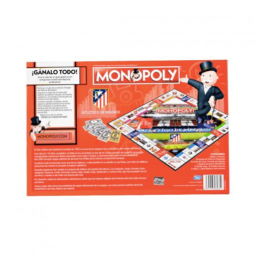 Monopoly Atlético de Madrid Caja Trasera