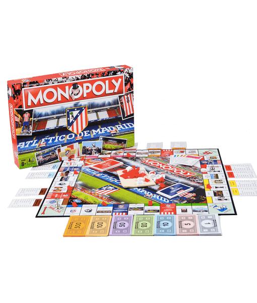 Monopoly Atlético de Madrid Caja más Tablero + Fichas
