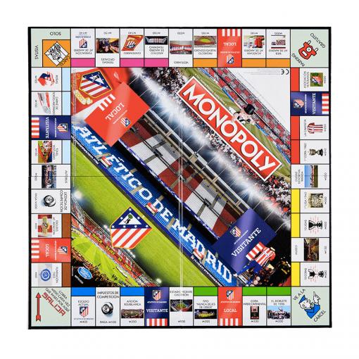 Monopoly Atlético de Madrid Tablero