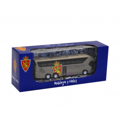 Autobús Real Zaragoza caja