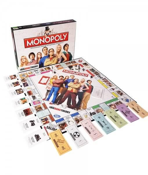 Monopoly The Big Bang Theory Contenido
