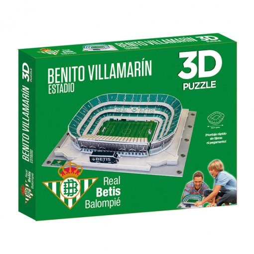 Puzzle 3D Estadio Benito Villamarín