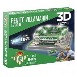 Puzzle 3D Estadio Benito Villamarín (con Luz)