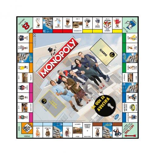 Monopoly La Que Se Avecina Tablero