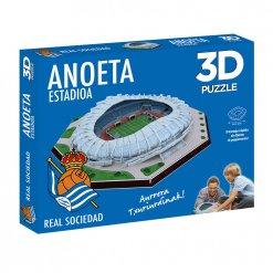 Puzzle 3D Estadio Anoeta caja