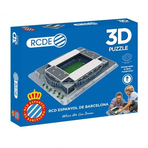 Puzzle 3D Estadio RCDE Stadium Caja