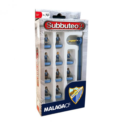 Subbuteo Team Box Málaga CF