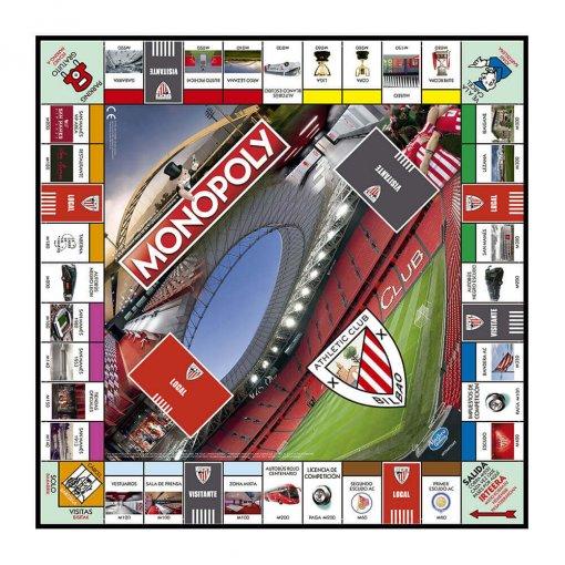 Monopoly Athletic Club tablero