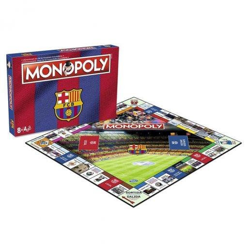 Monopoly FC Barcelona 2018-19 (caja+tablero)