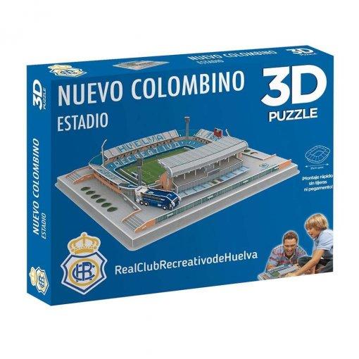Puzzle 3D Estadio Nuevo Colombino caja externa (2018)
