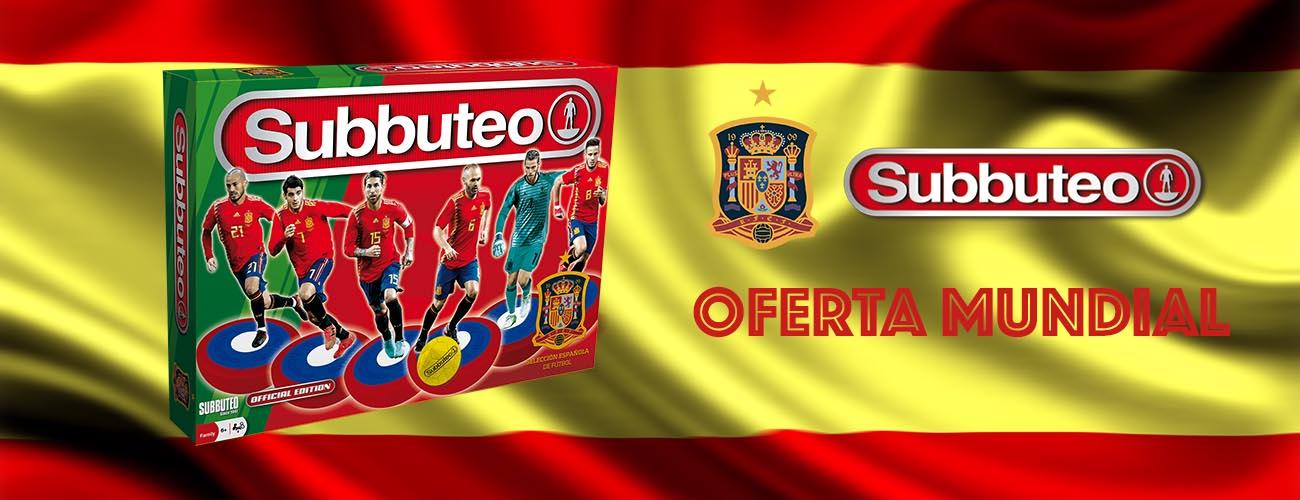 Subbuteo Playset Selección Española Oferta Especial