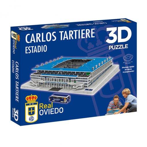 Puzzle 3D Estadio Carlos Tartiere