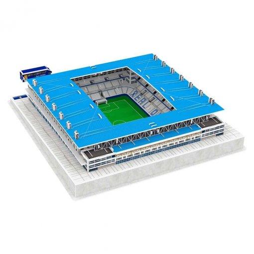 Puzzle 3D Estadio Carlos Tartiere (montado)