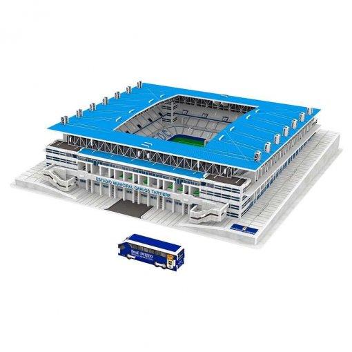 Puzzle 3D Estadio Carlos Tartiere (montado+bus)