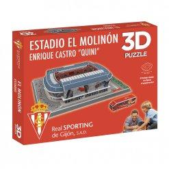 Puzzle 3D Estadio El Molinon Caja 2020