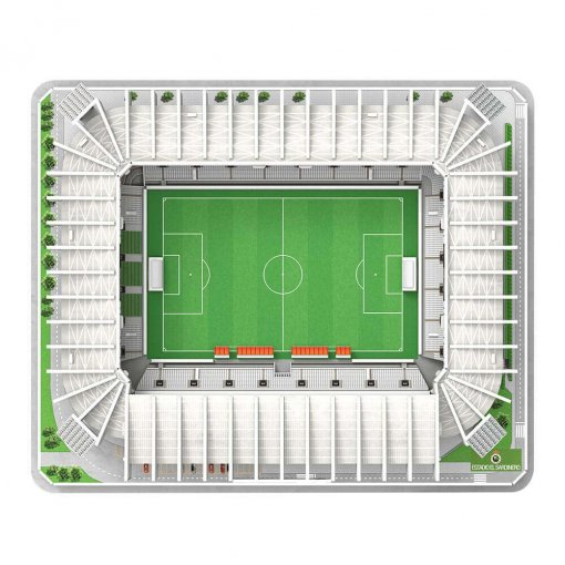 Puzzle 3D Estadio El Sardinero (montado)