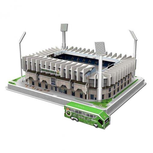Puzzle 3D Estadio El Sardinero (montado+bus)