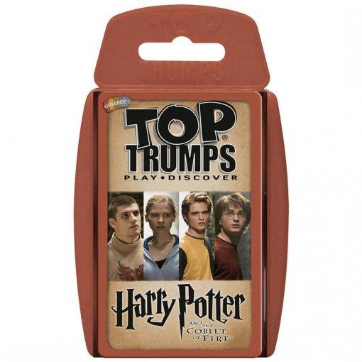 Top Trumps Harry Potter Y El Cáliz De Fuego (Español)