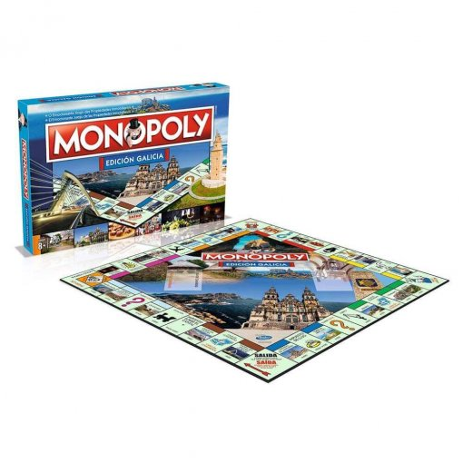 Monopoly Galicia (caja+tablero)