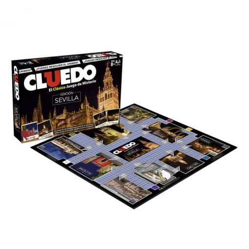 Cluedo Sevilla (Caja + Tablero)
