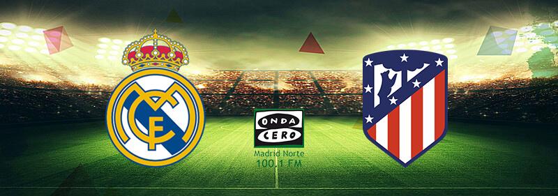Banner Real Madrid vs Atlético de Madrid