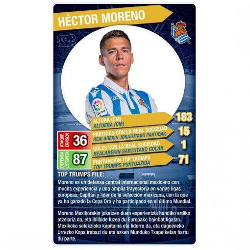 Top Trumps Real Sociedad (Héctor Moreno)