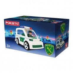 Pokeeto Coche Guardia Civil (Caja)